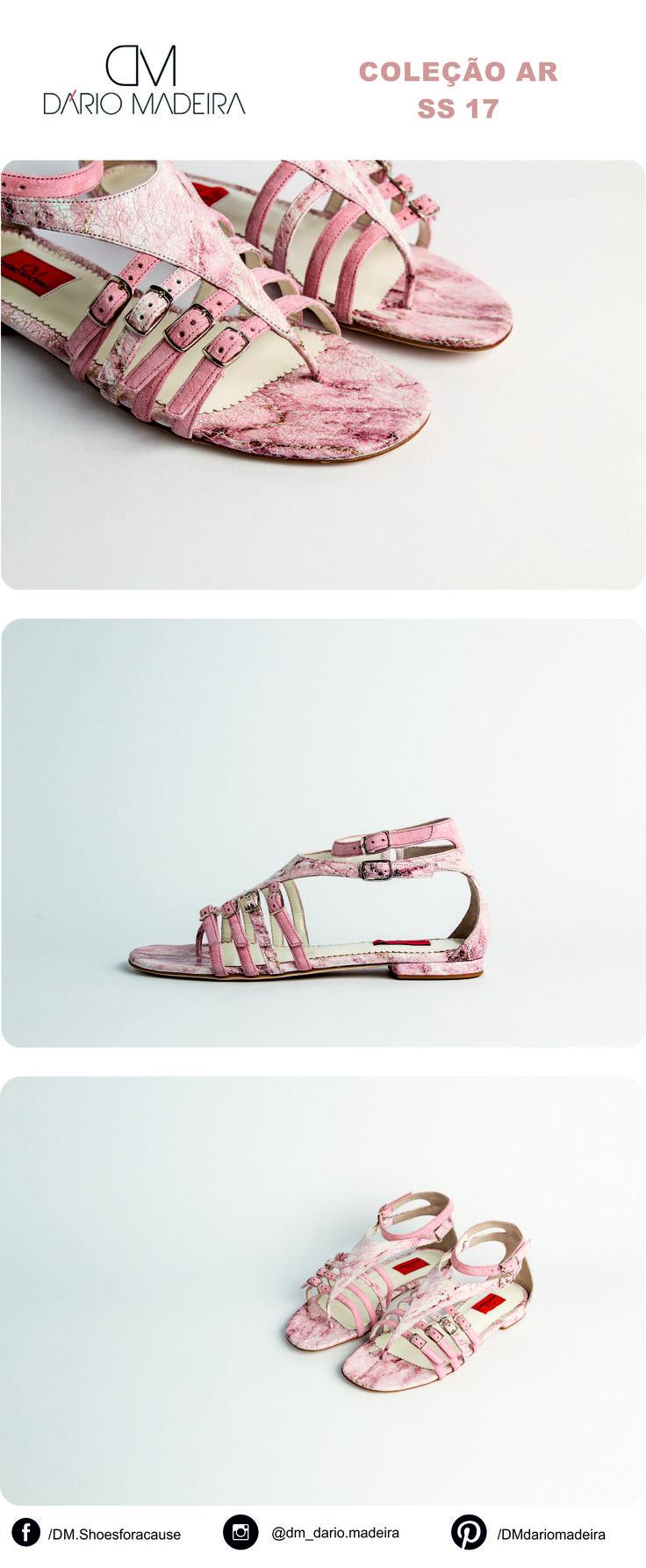 Sandália Rasa - Linha Ar | SS17 | DM - Dário Madeira  Sapato de Senhora | Shoes for a cause | Calçado Português | Portuguese Shoes | Made In Portugal