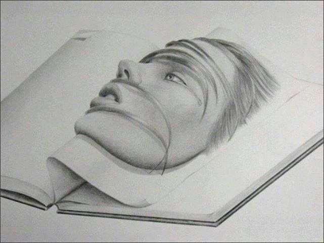 3 D Drawing Tattoo Idea Drawings Pinterest