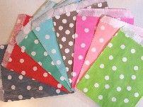 sacchetti per caramelle e Caramellata - Emozionarsi #pois #polka #bustine #candy