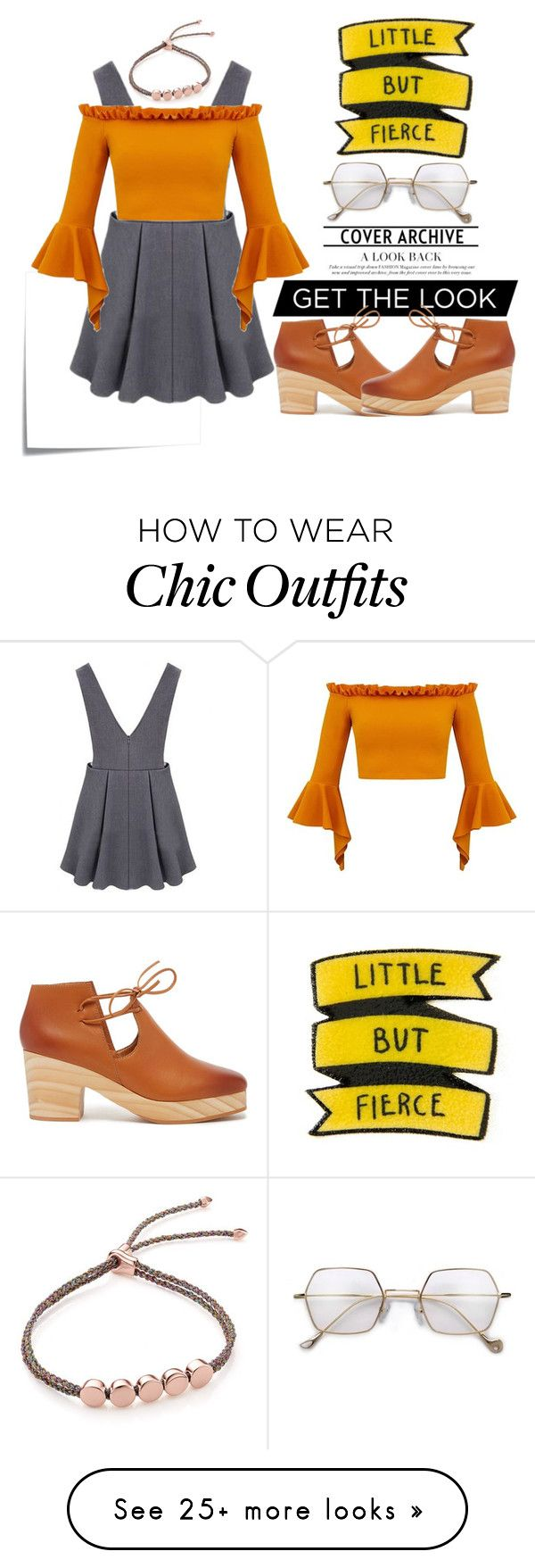 """""""LITTLE BUT FIERCE"""" by ajengyuanita on Polyvore featuring Post-It, Kelsi Dagger Brooklyn and Monica Vinader"""