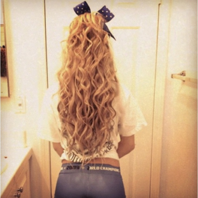 Cheerleader Hairstyles 7 cute cheerleader hairstyles hairstyle mag Find This Pin And More On Hairstyles By Ohsnap96