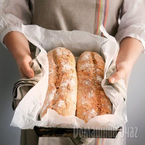 Вкусный домашний хлеб из разных видов муки и круп печется в обычной духовке.