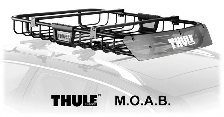 Thule M O A B Safari Roof Cargo Basket Camping Gear