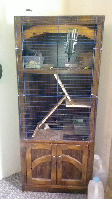 Indoor Rabbit Hutch Diy Furniture Bunny Cages Rabbit