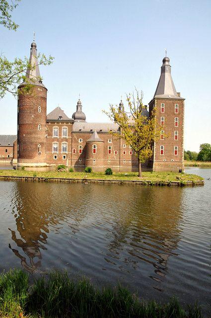 Kasteel Hoensbroek, Limburg, Nederland. Mooi kasteel.