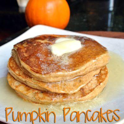 Mom, What's For Dinner?: Gluten-Free Pumpkin Pancakes