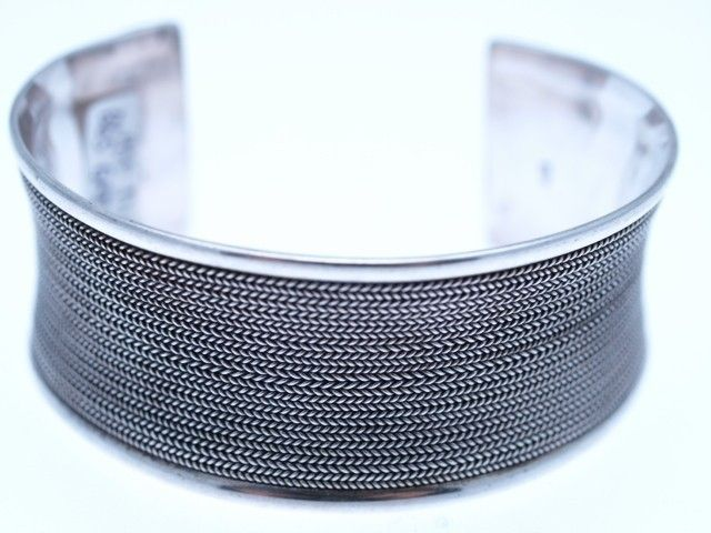 The Cleopatra Grid Bangle will look fabulous with any outfit AU$195 with Free Delivery | Red Wrappings