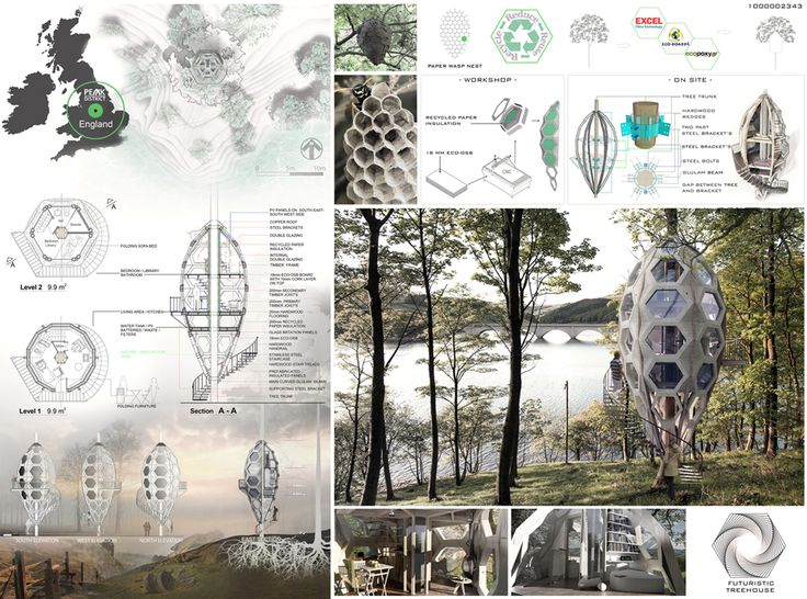 Results of the Competition Triumph Architectural Treehouse Award 2014