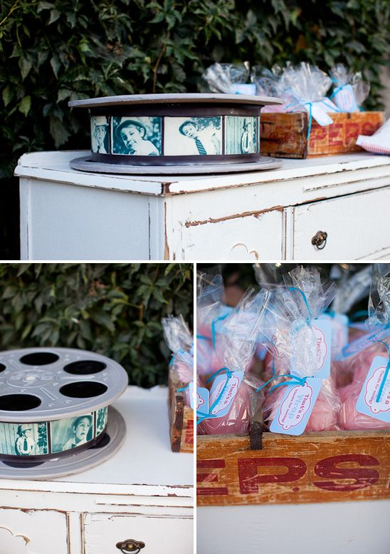 Vintage movie birthday party - probably for adults