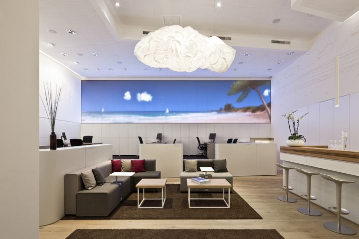World of tui travel agency by nest one berlin retail for Retail interior design agency london