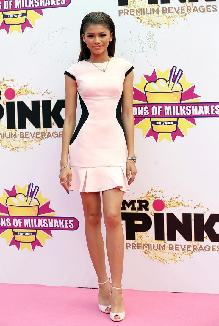 Zendaya at the 'Millions of Milkshakes' grand opening in Shanghai, China 28/05/14