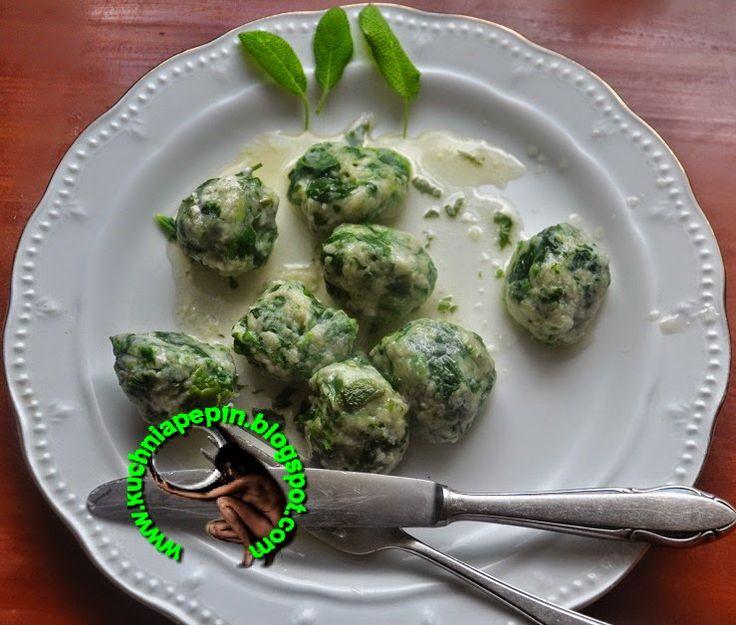 w mojej kuchni: RABATON- GNUDI  czyli  włoskie kluski