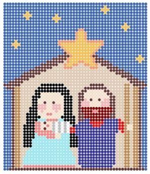 Perler Bead Christmas Pattern