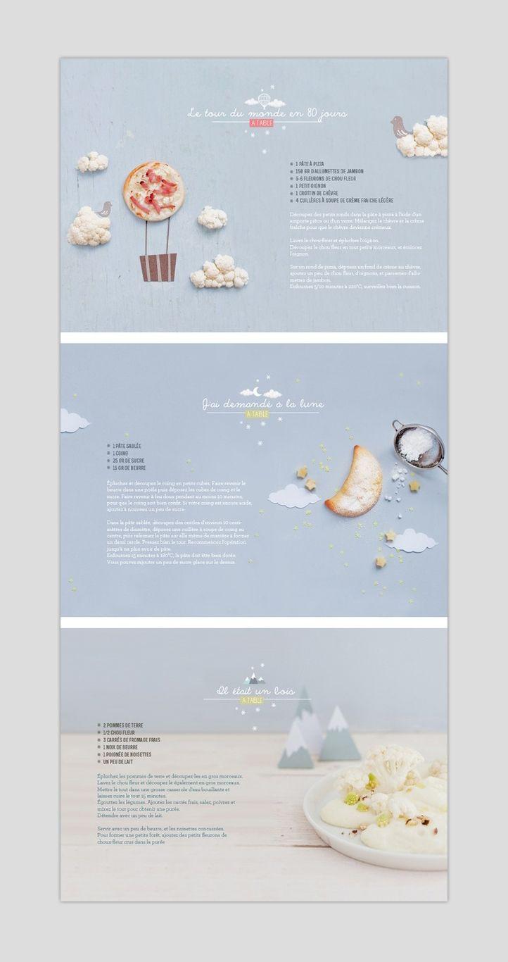 Delicious food web design
