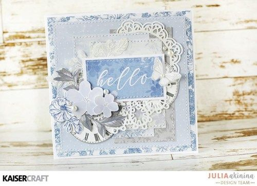 Lilac Whisper Card Inspiration - Kaisercraft Official Blog