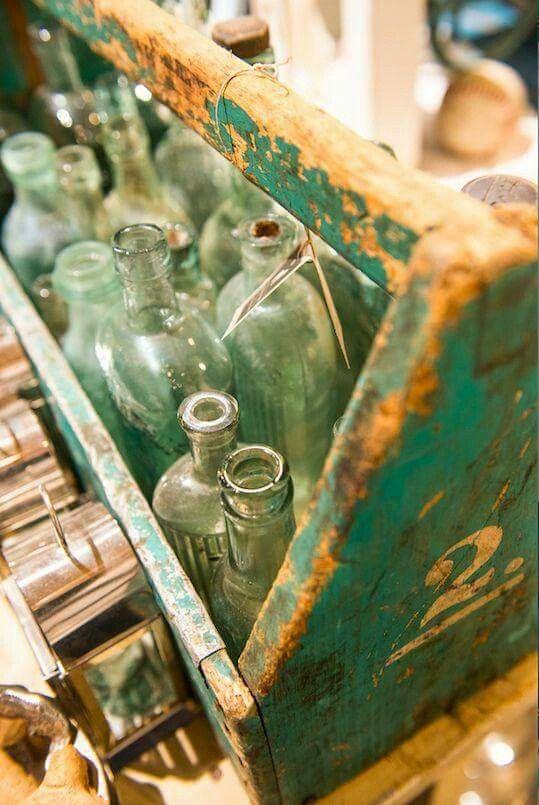Old bottle display idea