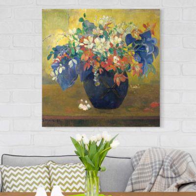Leinwandbild Paul Gauguin - Kunstdruck Blumen in einer Vase - Post-Impressionismus 80x80-55.00-LB-1-1 Jetzt bestellen unter: https://moebel.ladendirekt.de/dekoration/bilder-und-rahmen/poster/?uid=2f281bcd-1911-510d-8604-f59d9b59abba&utm_source=pinterest&utm_medium=pin&utm_campaign=boards #heim #bilder #rahmen #poster #dekoration