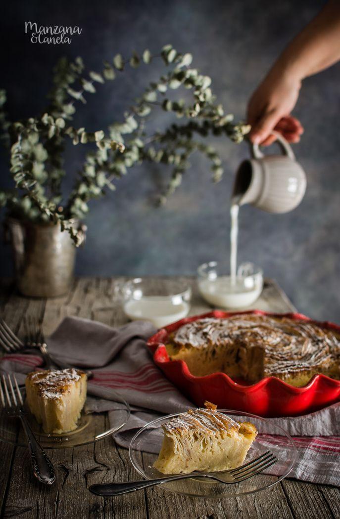 Ruffled milk pie (Pastel de pasta filo y natillas)