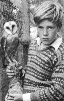 Gerald Durrell, 1936 later a conservationist,author, naturalist & zoo keeper. There can't be that many people whose life follows the trajectory they long for, and who achieve something hugely worthwhile along the way. In this case the child really was father to the man.