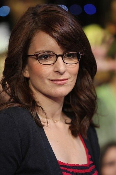 celebrities in glasses images | Tina Fey ditches the glasses for formal events, but we still think she ...