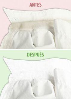 10 trucos que le devolverán la blancura a tu ropa. Y no necesitas comprar productos costosos