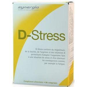 Dstress de SYNERGIA, anti fatigue, 80 comprimés - A découvrir sur PowerSanté, la parapharmacie en ligne avec Top Santé.