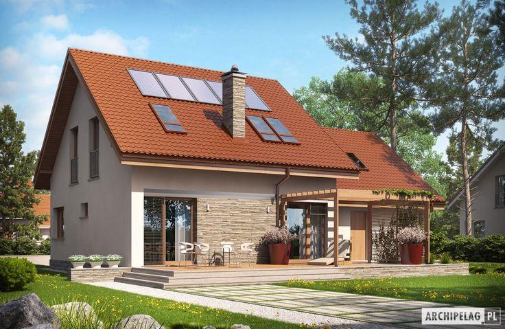 Projekty domów ARCHIPELAG - Leosia II G2 ENERGO