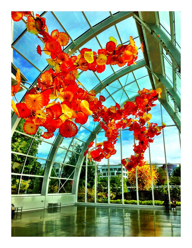 Chihuly Garden Glass Museum Seattle Photo By Shira