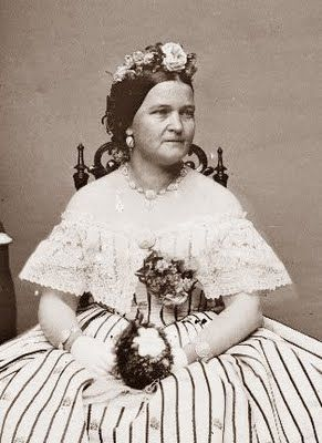 First Lady Mary Todd Lincoln, wife of Abraham Lincoln managed to get the first pension for presidential widows.