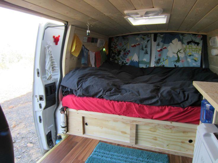 Donovan The Astro Van Diy CamperCamper
