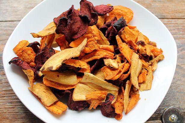 Gesunde Snacks: Gemüsechips selber machen