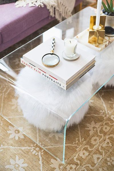 Lucite Love. Clear AcrylicClear Coffee TableAcrylic ...