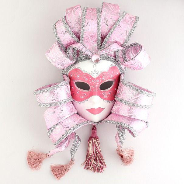 Ручная работа Интерьерная венецианская маска Леди