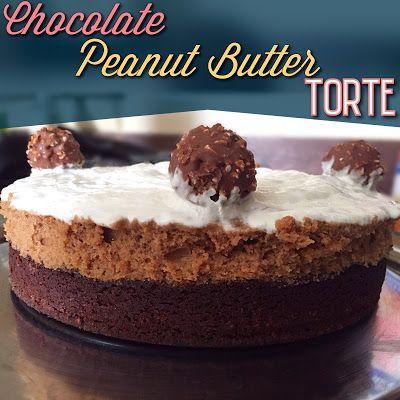 EmilyCanBale: Chocolate Peanut Butter Torte www.emilycanbake.com