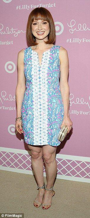 Ellie Kemper in Lilly Pulitzer for Target Dress