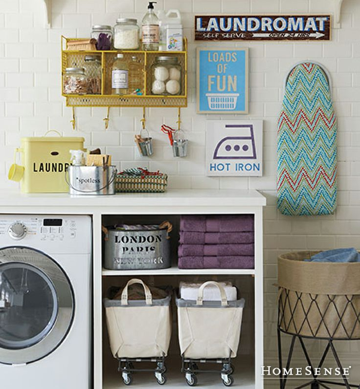 Even chores can look nicee and tidy. #HomeSenseStyle