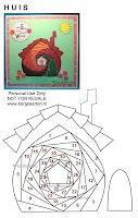 Iris Folding site with free patterns