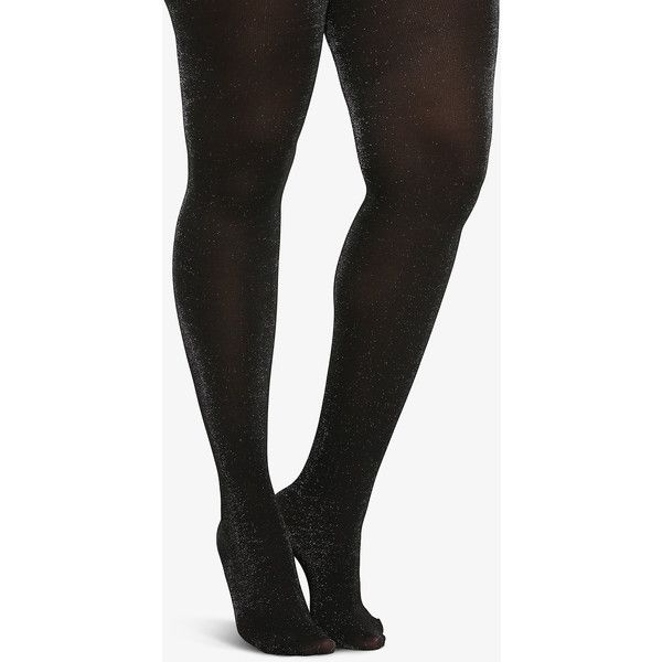 Torrid Sparkly Opaque Tights ($13) ❤ liked on Polyvore featuring intimates, hosiery, tights, accessories, black, hosiery & socks, opaque stockings, opaque pantyhose, sparkly stockings and sparkle pantyhose