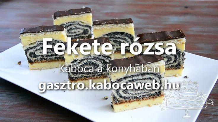 Fekete rózsa recept videó - Kabóca a konyhában