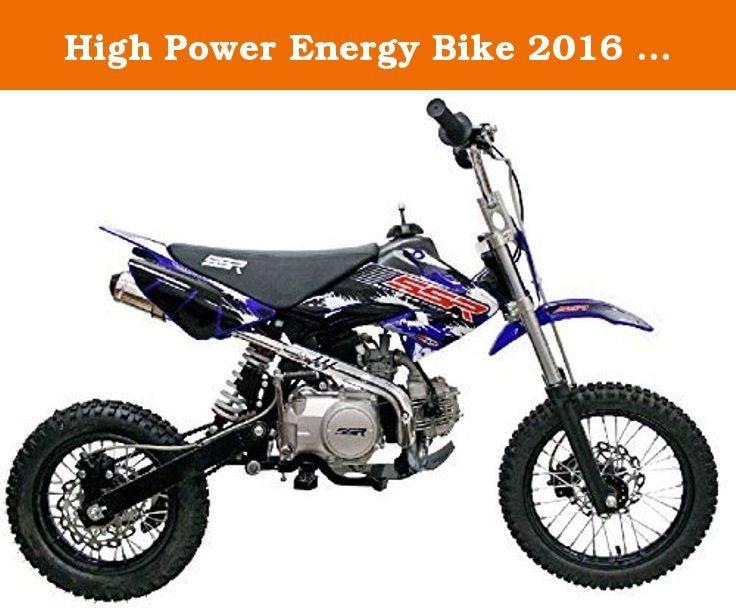 High Power Energy Bike 2016 SSR 125 4Speed Manual Pit