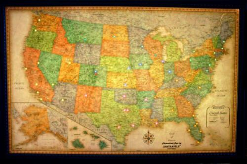 classic usa illuminated map free shipping national geographic map features all 50 states in