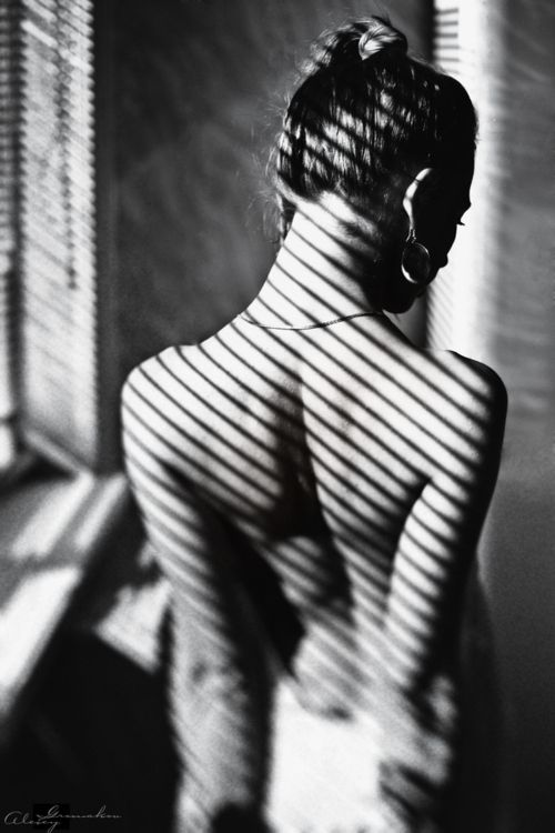 The light and shadow...