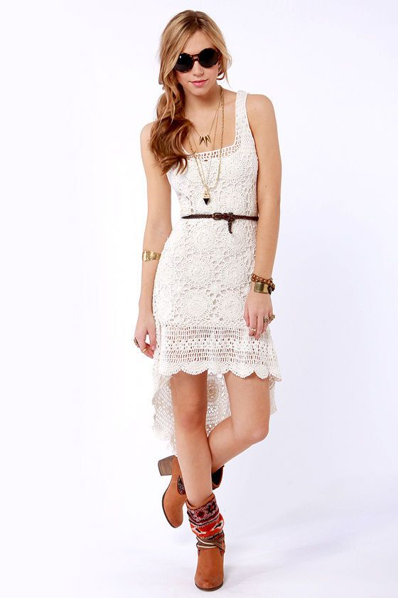 MADE TO ORDER  Crochet Dress  custom made hand made от Irenastyle, $599.00