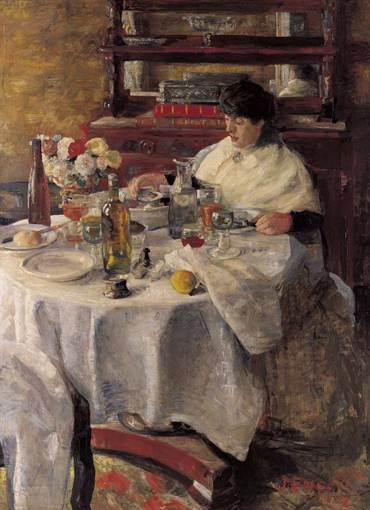 The Oyster eater James Ensor