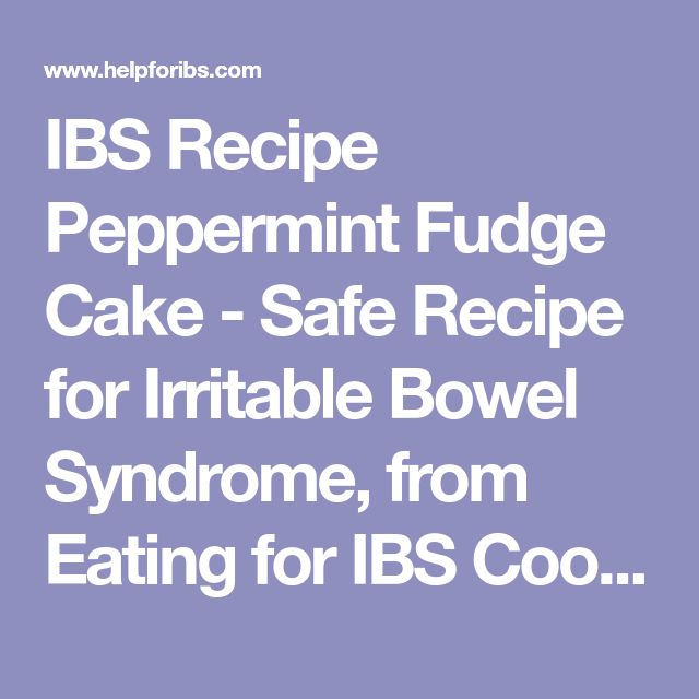 A List Of Safe Foods For Someone With Ibs