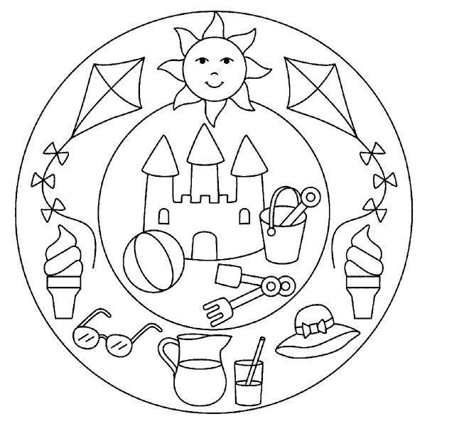 Pin Von Marie Le Touze Auf Hojas De Trabajo Ausmalbilder Muster Malvorlagen Mandala Ausmalen