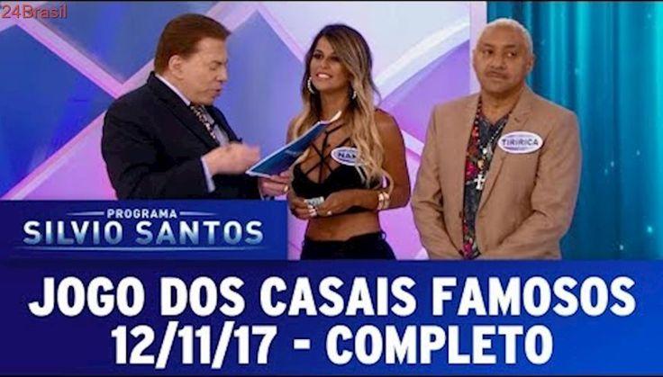 Jogo dos Casais Famosos - Completo | Programa Silvio Santos (12/11/17)