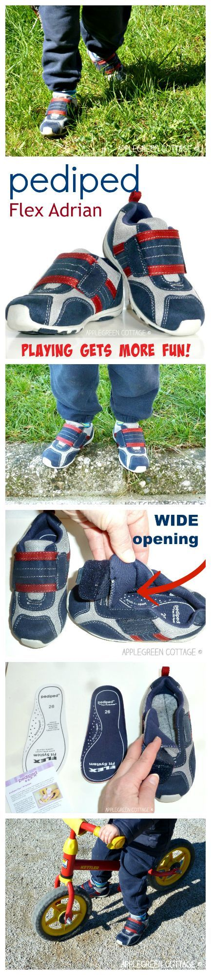 Any other mom loving pediped shoes?  If there are more Pediped enthusiasts out there, let me make your decision easier by telling you a few of the things I realized about  Pediped Flex Adrian model! (I expected nothing less from Pediped than to be impressed. I think you shouldn't either.)