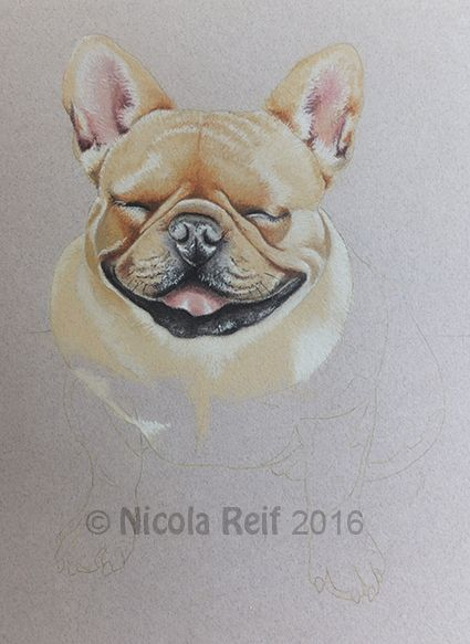 Dela work in progress shot (Photo reference from owner).