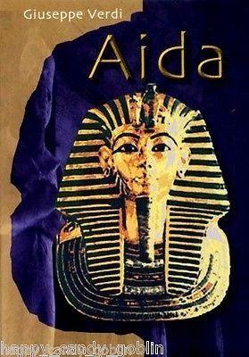 ☛Giuseppe Verdi's Aida (Austria 1997) [DVD,Classical,Musical,Opera,Live,Concert]